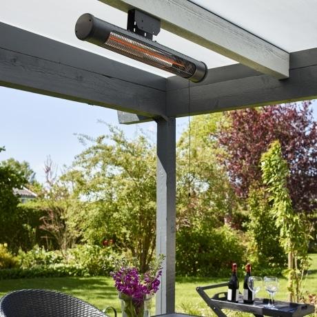 HORTUS Terrassevarmer til vægmontering 600/1200 Watt