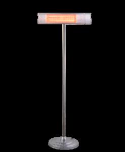 HORTUS Terrassevarmer Golden Tube gulvmodel 1500 Watt